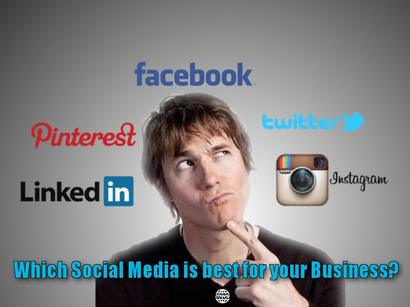 Digital Marketing : Which Social Media Platform is best for your Business?