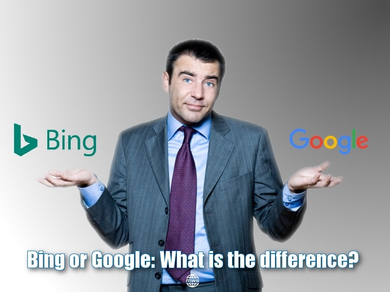 Bing or Google: What is the difference?