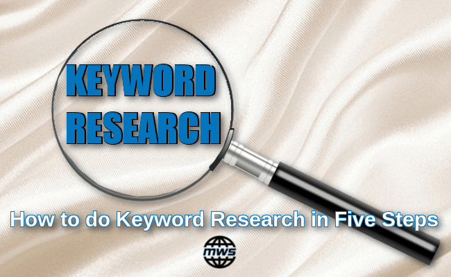 How to do keyword research in five simple steps