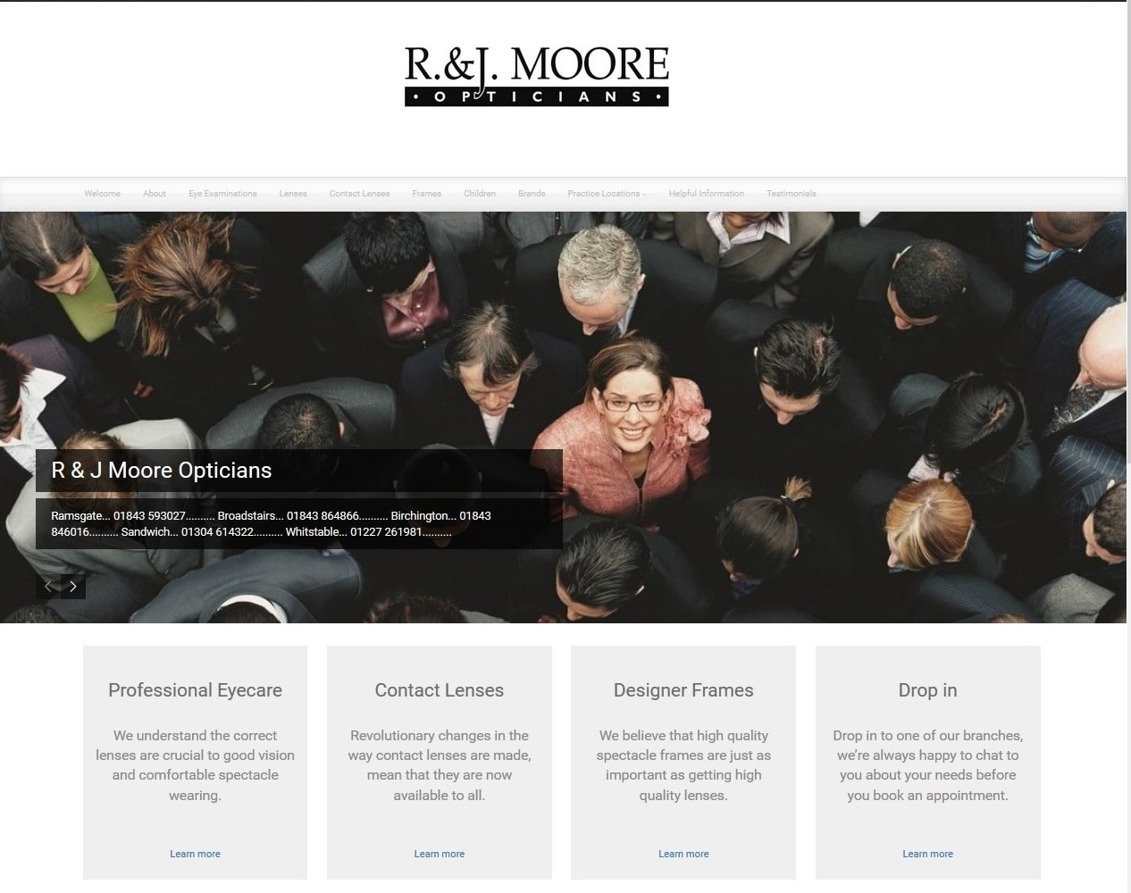 R J Moore Website supplied by Managed Web Services
