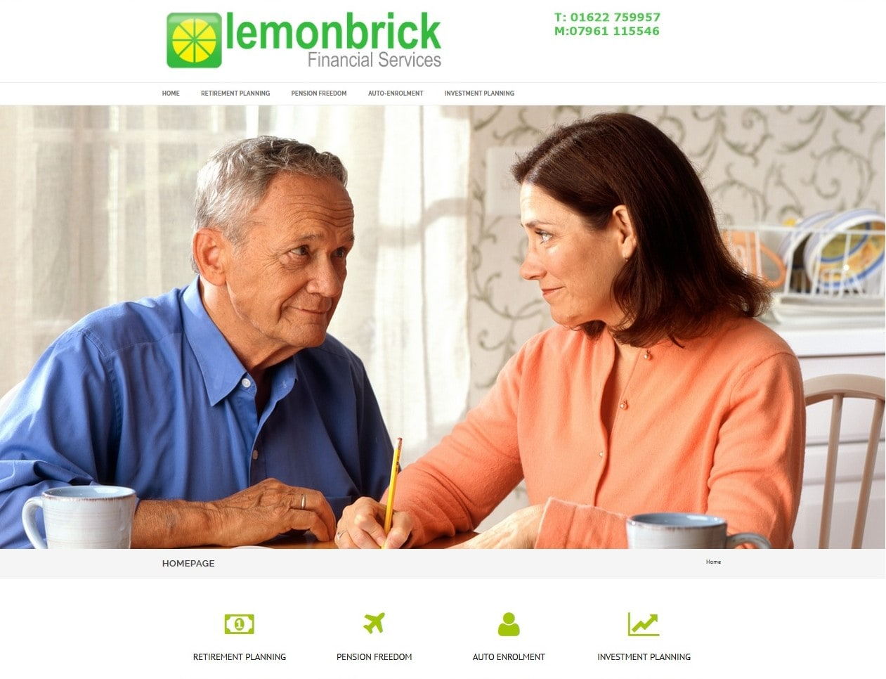 Lemonbrick Website supplied by Managed Web Services
