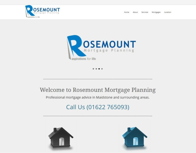 Rosemount Website supplied by Managed Web Services