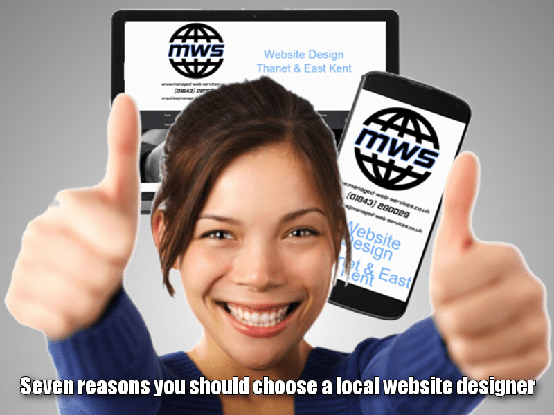 Seven reasons you should choose a local website designer